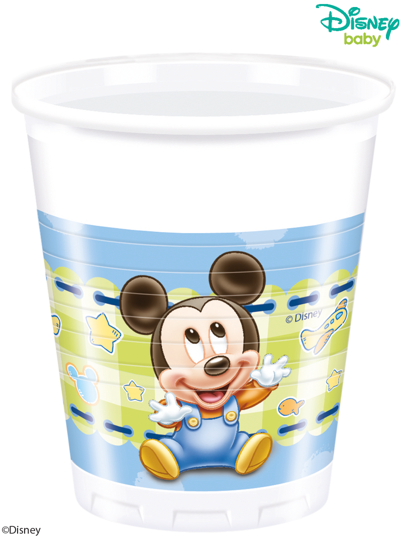 Baby Mickey - Party Plastic Cups