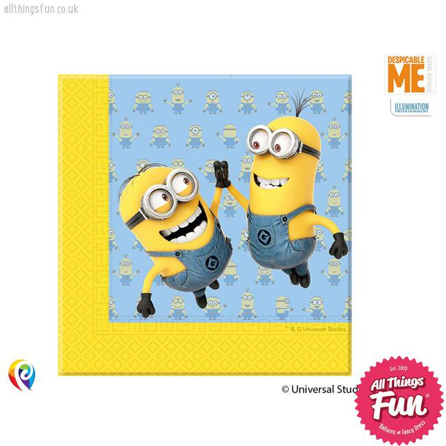 Lovely Minions - Party Napkins 20ct