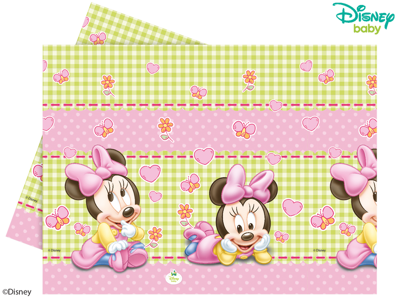 Baby Minnie - Party Table Cover