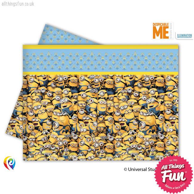 Lovely Minions - Party Table Cover 1ct