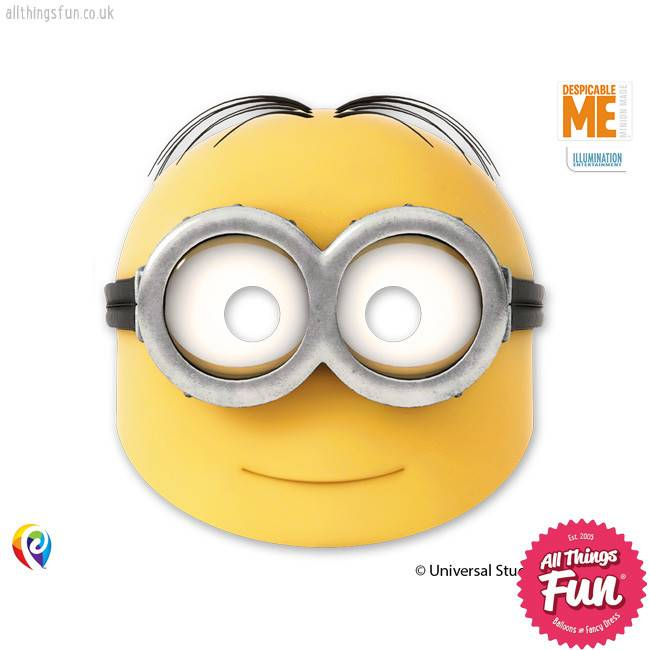 Lovely Minions - Party Masks 6ct
