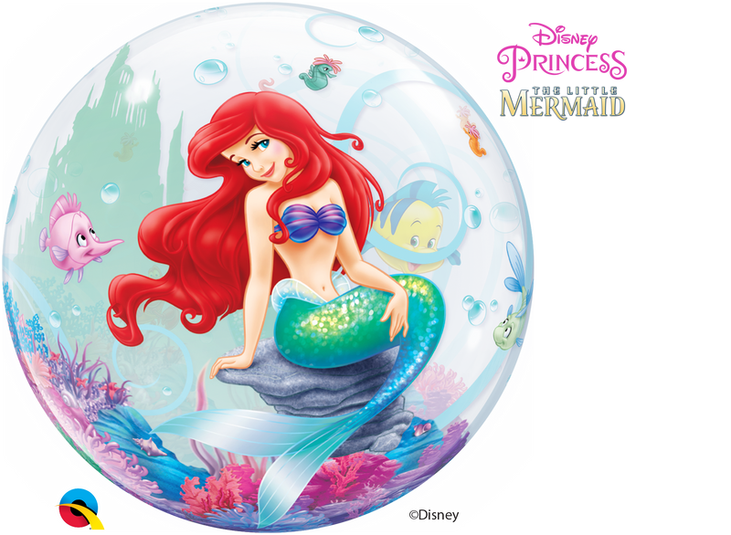 Bubble Balloon - 22 inch - The Little Mermaid