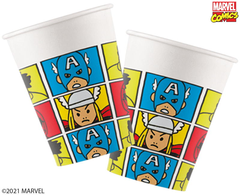 Marvel's Avengers Pop Comic - Paper Cups