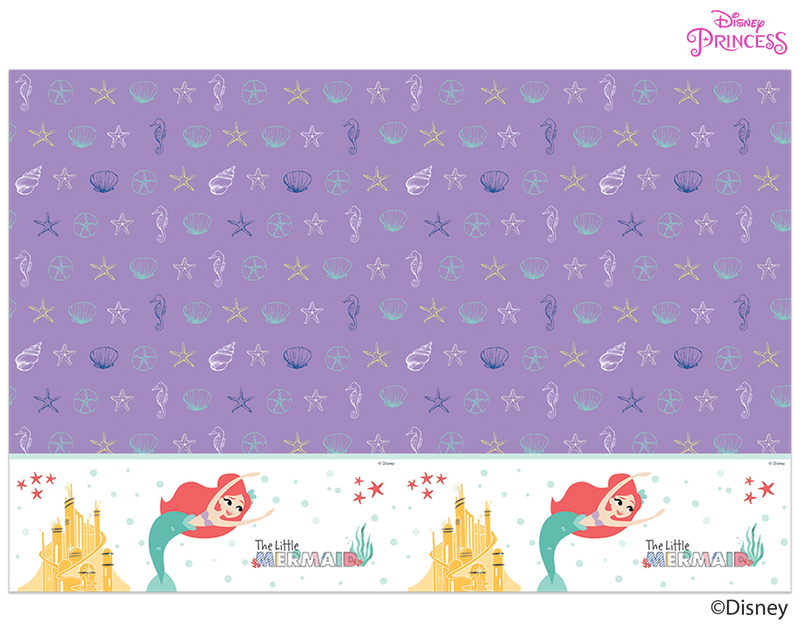 Ariel Under The Sea - Party Table Cover