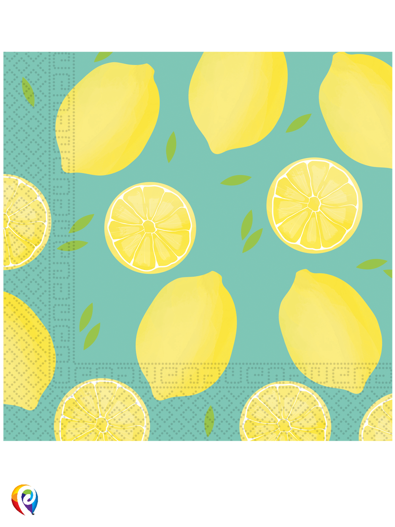 Lemons - Party Napkins
