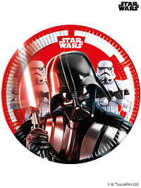 Star Wars - Party Paper Plates (20cm)