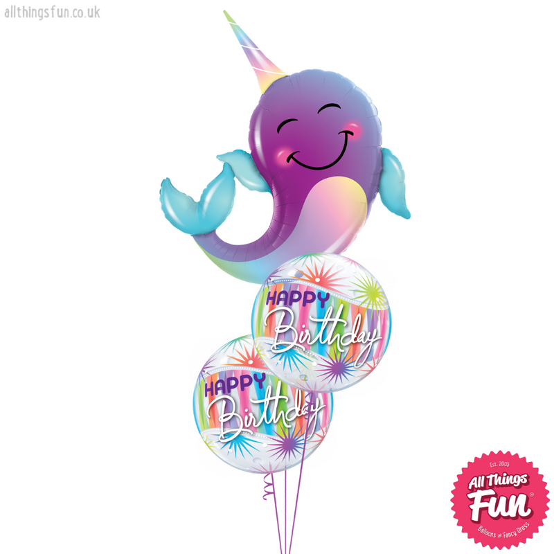 Birthday Sorbet Narwhal Bouquet