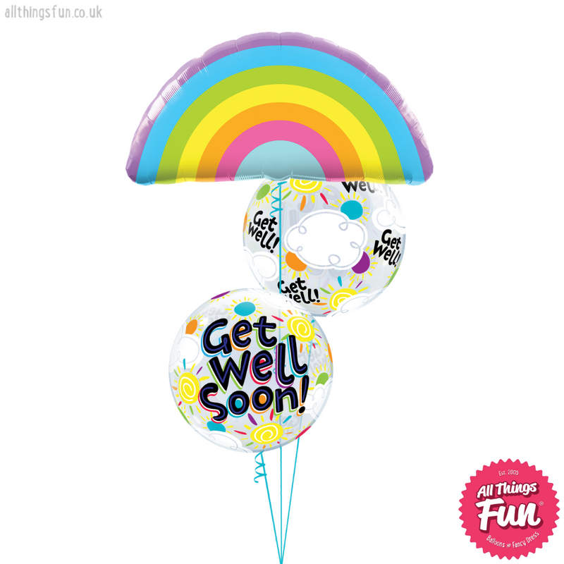 Radiant Rainbow Get Well Bouquet