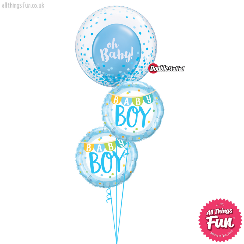 Blue Oh Baby! Boy Bouquet
