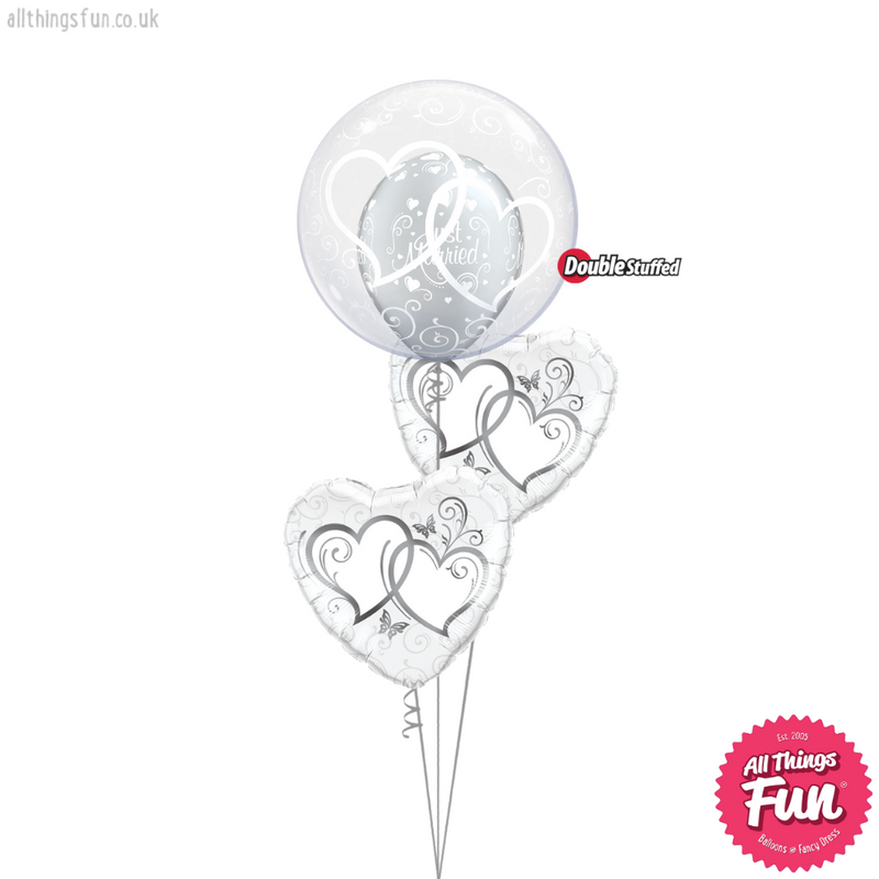Entwined Hearts Wedding Bouquet