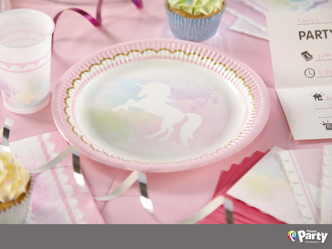 Believe in Unicorns - Party Paper Plates