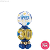Special Age Blue Birthday Bubble Number Stand Up