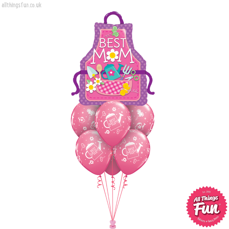 Best Mum Apron Luxury