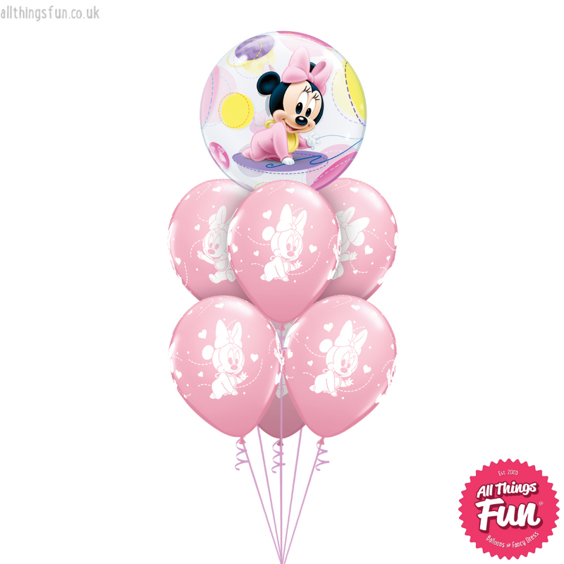 Disney Baby Minnie Mouse Bubble Luxury