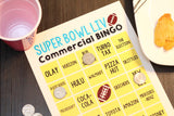 2021 Printable Super Bowl Commercial Bingo Cards (Up to 40)
