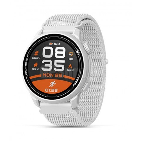 Coros Pace 2 Premium GPS Sport Watch with nylon strap