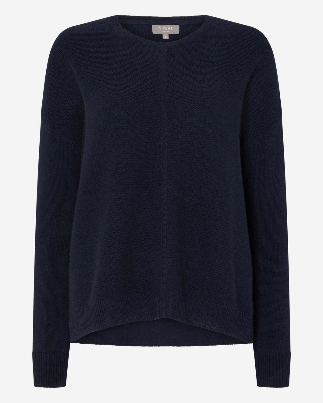 Gauzy Oversize Sweater Navy Blue