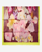 Load image into Gallery viewer, Floral Printed Pashmina Cashmere Shawl Pink
