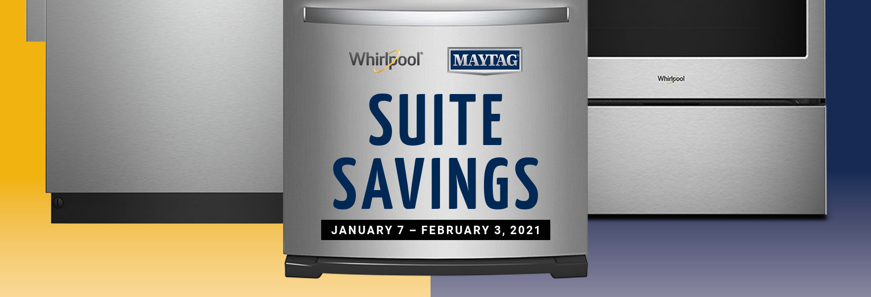 Whirlpool Maytag Suite Savings Event
