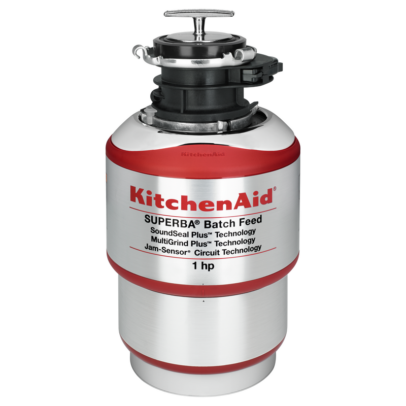 1-Horsepower Batch Feed Food Waste Disposer KBDS100T