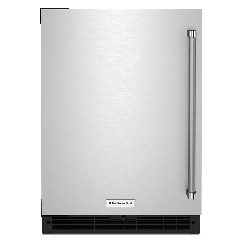 "24"" Undercounter Refrigerator with Stainless Steel Door KURL114KSB"