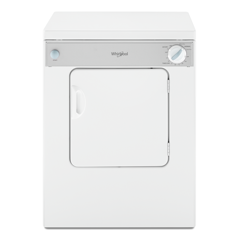 Whirlpool® 3.4 cu.ft. Compact Electric Dryer with AccuDry™ Drying System LDR3822PQ