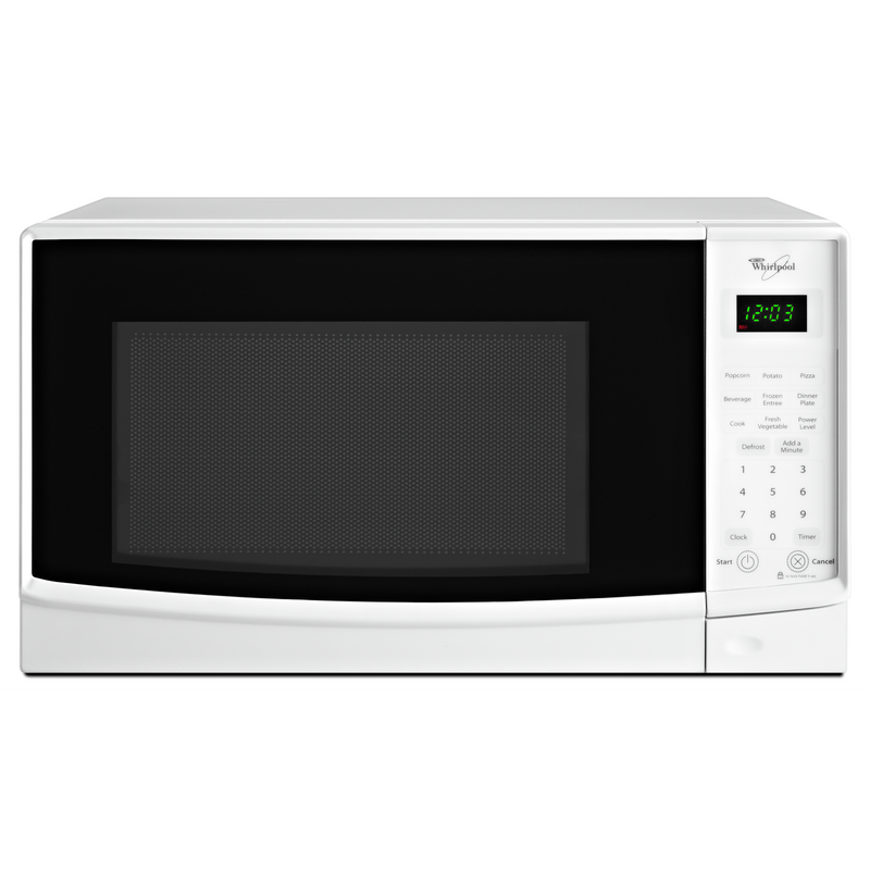 Whirlpool® 0.7 cu. ft. Countertop Microwave with Electronic Touch Controls WMC10007AW