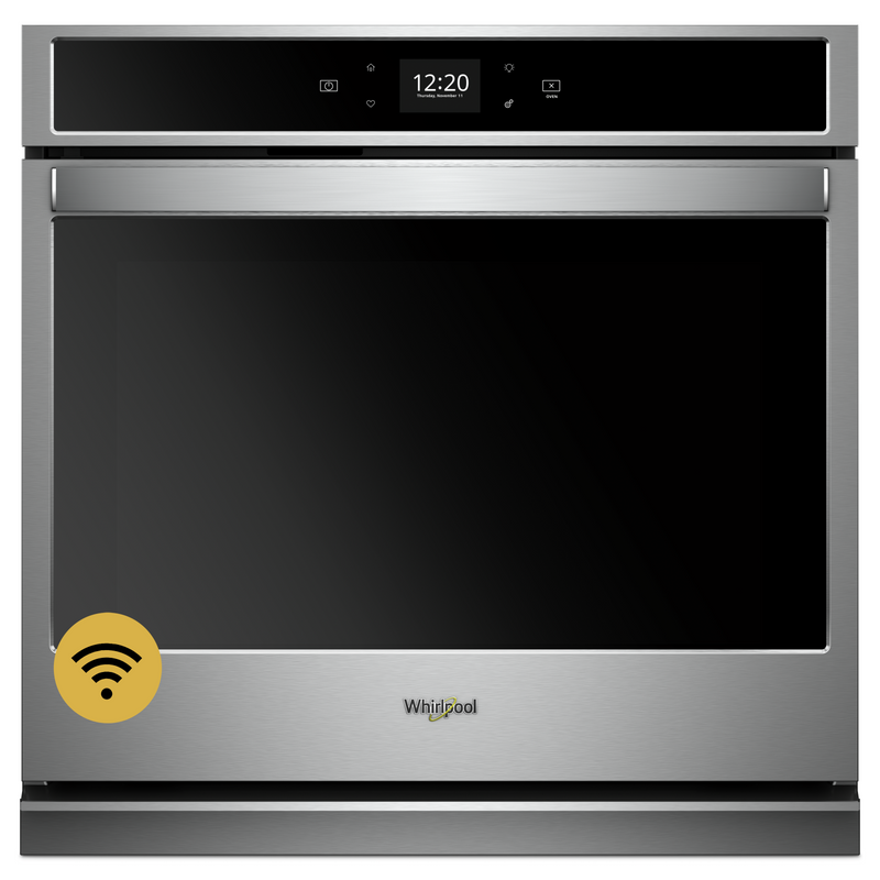 5.0 cu. ft. Smart Single Wall Oven with Touchscreen WOS51EC0HW
