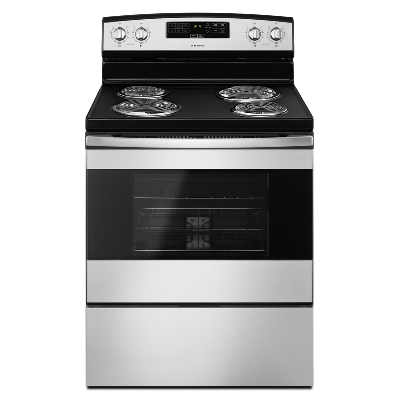 30-inch Amana® Electric Range with Bake Assist Temps YACR4303MFW