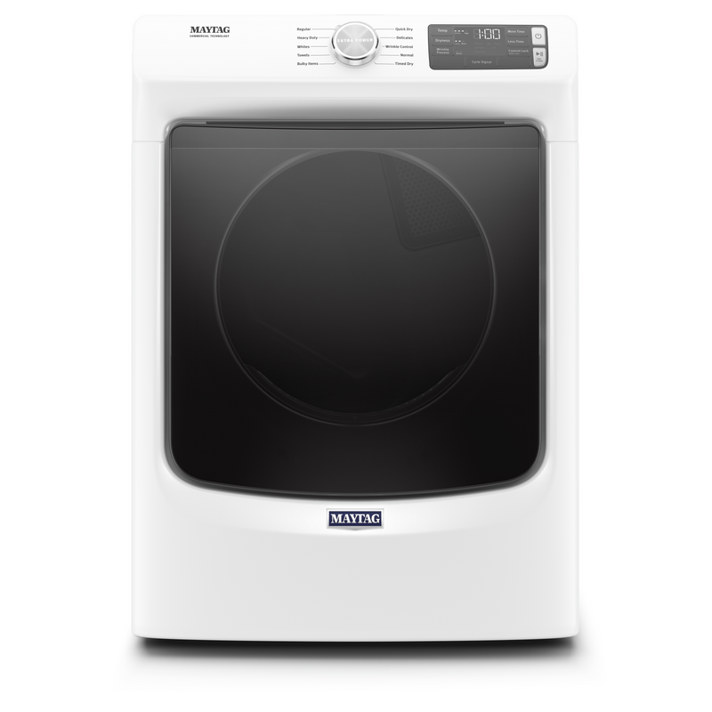 Front Load Electric Dryer with Extra Power and Quick Dry cycle - 7.3 cu. ft. YMED5630HW