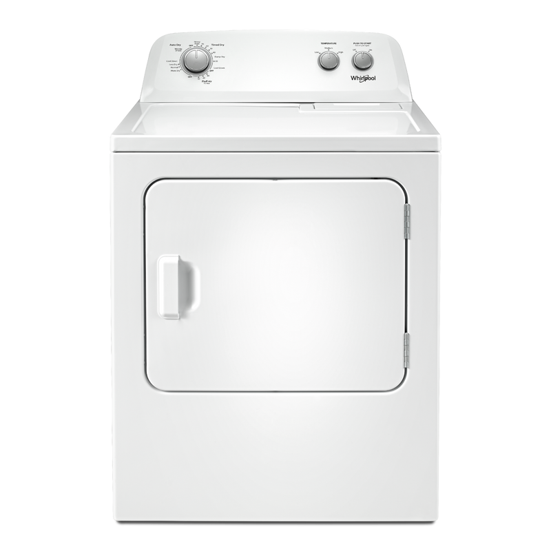 7.0 cu. ft. Top Load Electric Dryer with AutoDry™ Drying System YWED4850HW