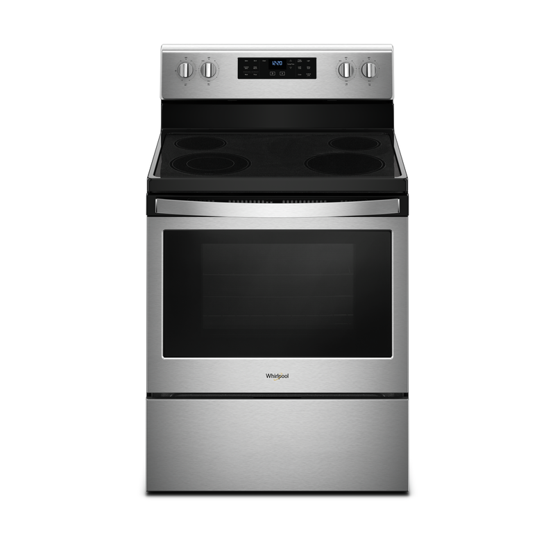5.3 cu. ft. guided Electric Freestanding Range with True Convection Cooking YWFE521S0HS