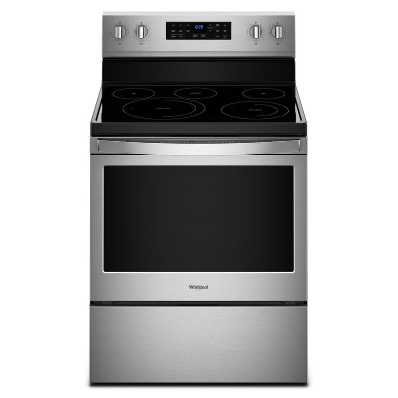 5.3 cu. ft. Freestanding Electric Range with Fan Convection Cooking YWFE550S0HW
