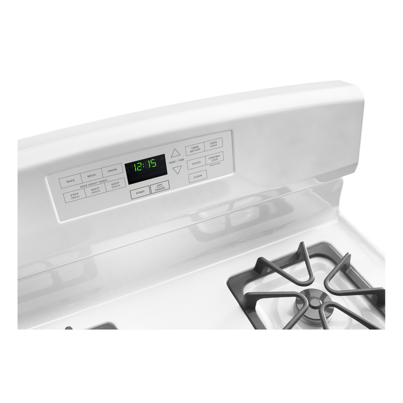 30-inch Gas Range with Self-Clean Option AGR6603SFW