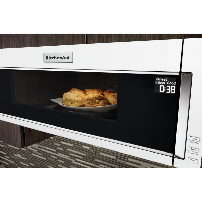 900-Watt Low Profile Microwave Hood Combination YKMLS311HWH