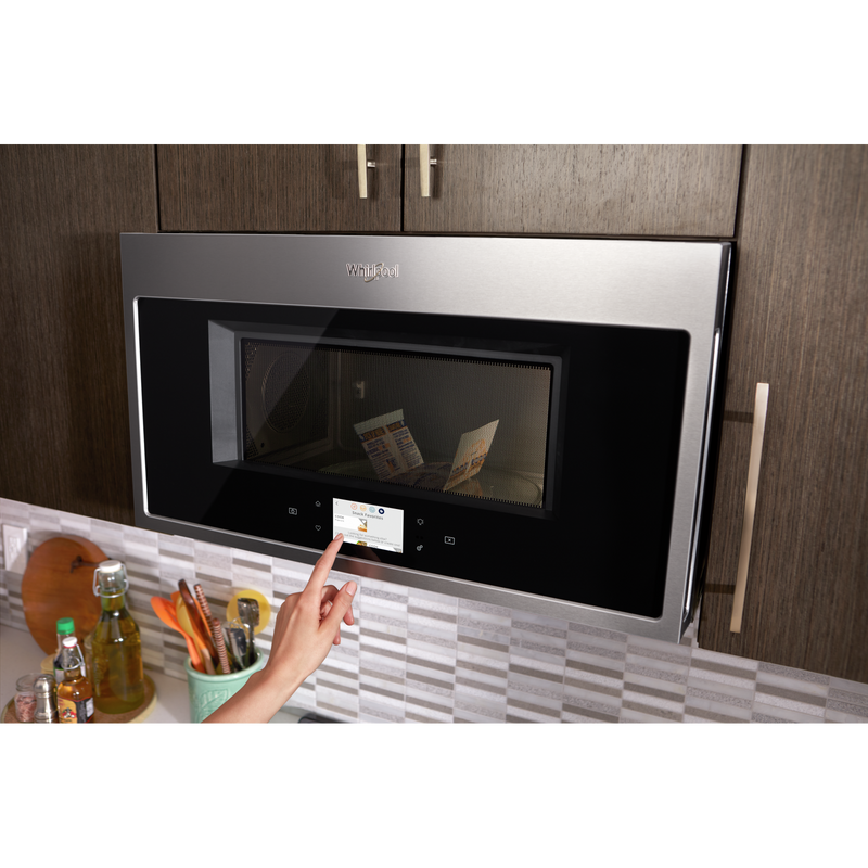 Smart 1.9 cu. ft. Over the Range Microwave with Multi-step cooking YWMHA9019HZ