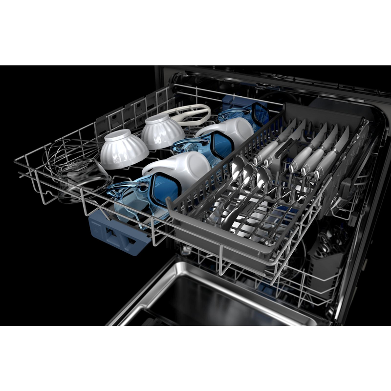 Top control dishwasher with Third Level Rack and Dual Power Filtration MDB8959SKZ