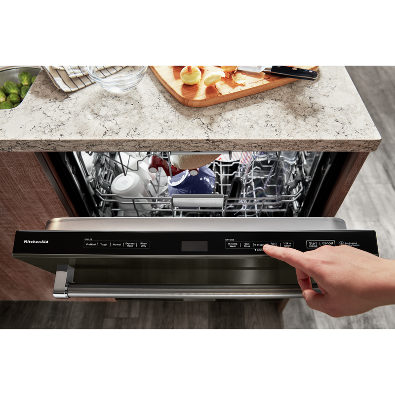 44 dBA Dishwasher with FreeFlex™ Third Rack and LED Interior Lighting KDTM804KBS