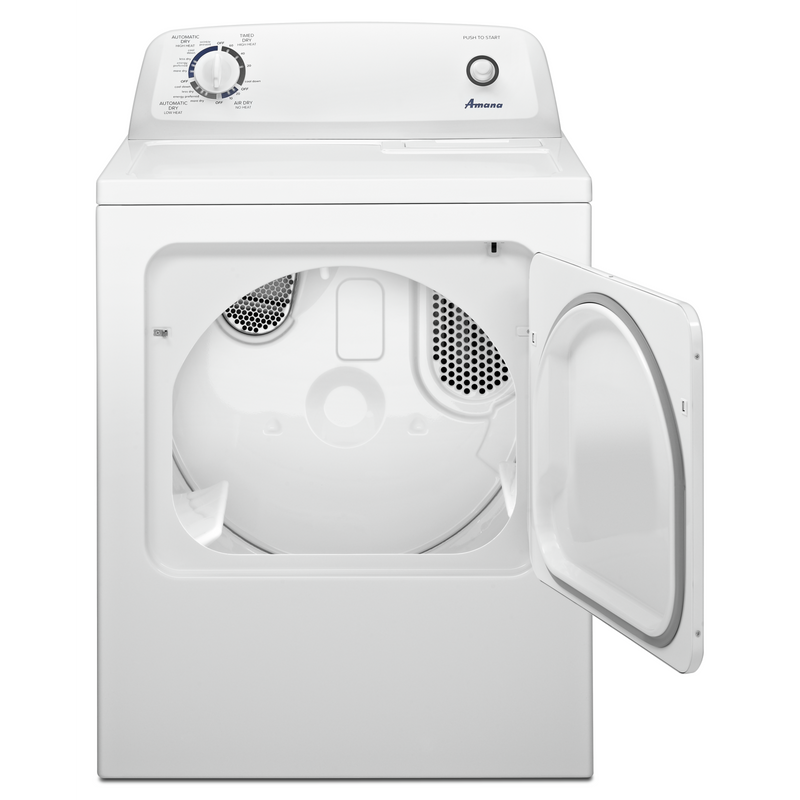 Amana® 6.5 cu. ft. Top-Load Electric Dryer with Automatic Dryness Control YNED4655EW