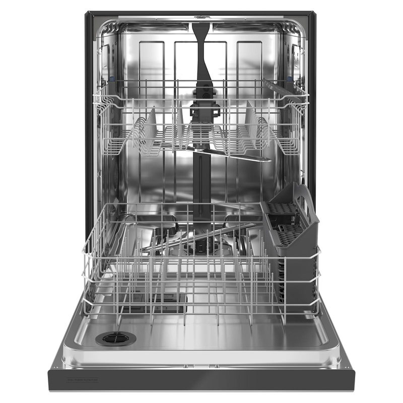 Maytag® Stainless steel tub dishwasher with Dual Power filtration MDB4949SKZ