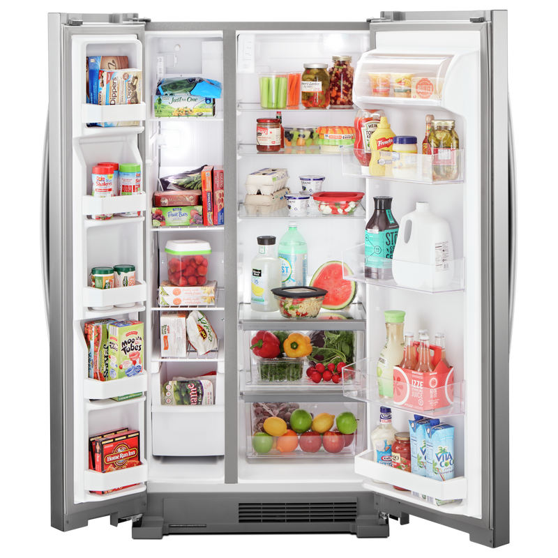 33-inch Wide Side-by-Side Refrigerator - 22 cu. ft. WRS312SNHM