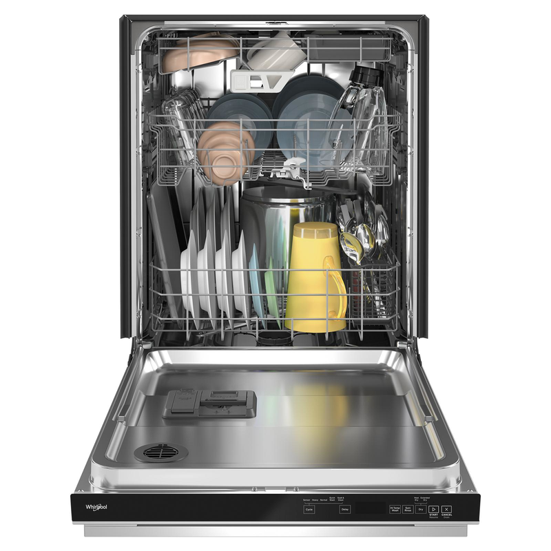 Fingerprint Resistant Quiet Dishwasher with 3rd Rack & Large Capacity WDTA80SAKZ