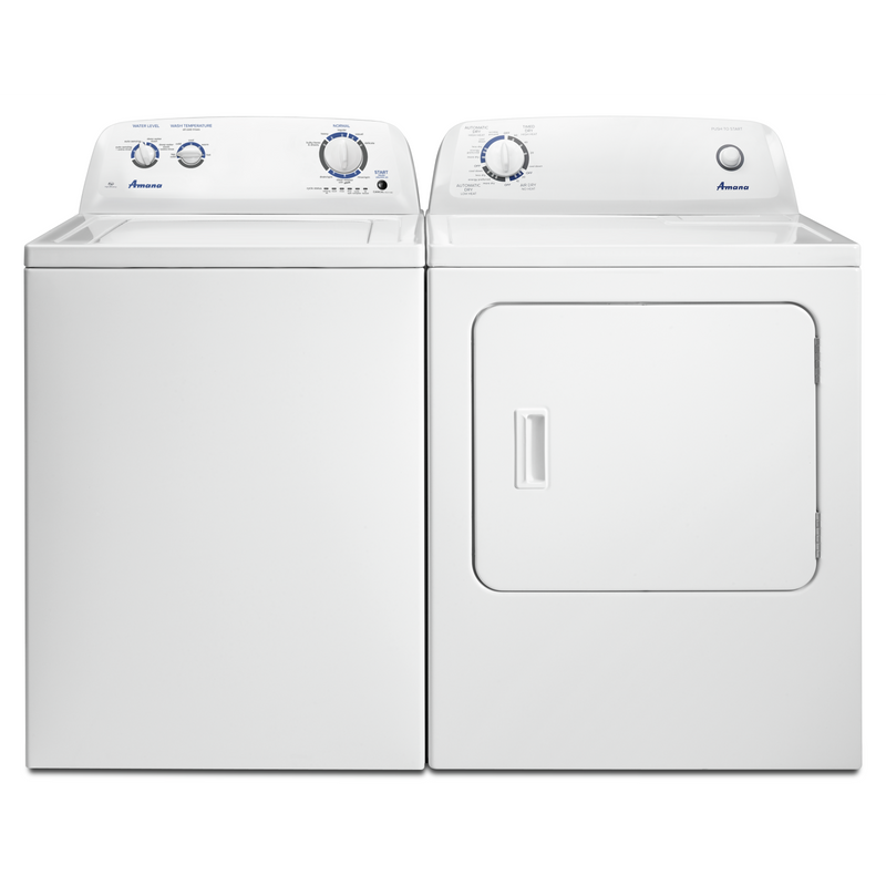 Amana 4.0 cu. ft. Top-Load Washer with Dual Action Agitator NTW4516FW