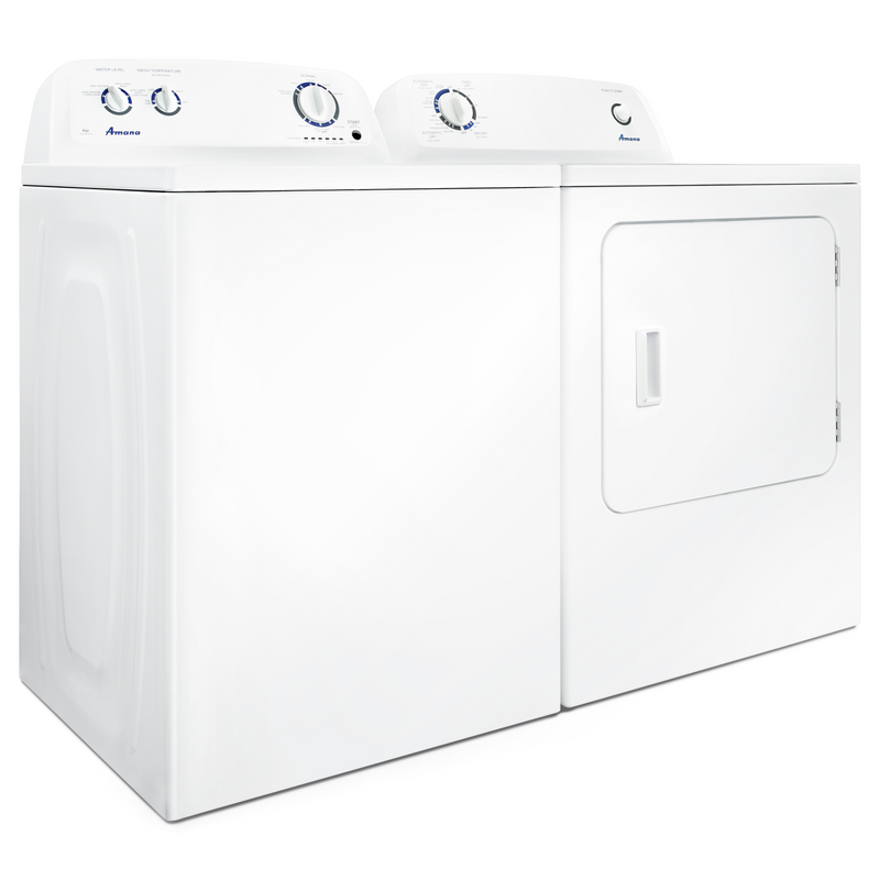 Amana® 6.5 cu. ft. Top-Load Gas Dryer with Automatic Dryness Control NGD4655EW