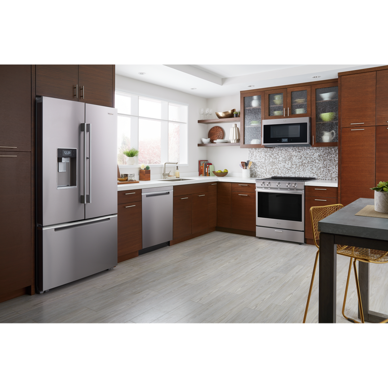 6.4 Cu. Ft. Smart Contemporary Handle Slide-in Electric Range with Frozen Bake™ Technology YWEEA25H0HZ