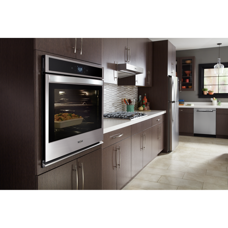 5.0 cu. ft. Smart Single Wall Oven with Touchscreen WOS51EC0HS