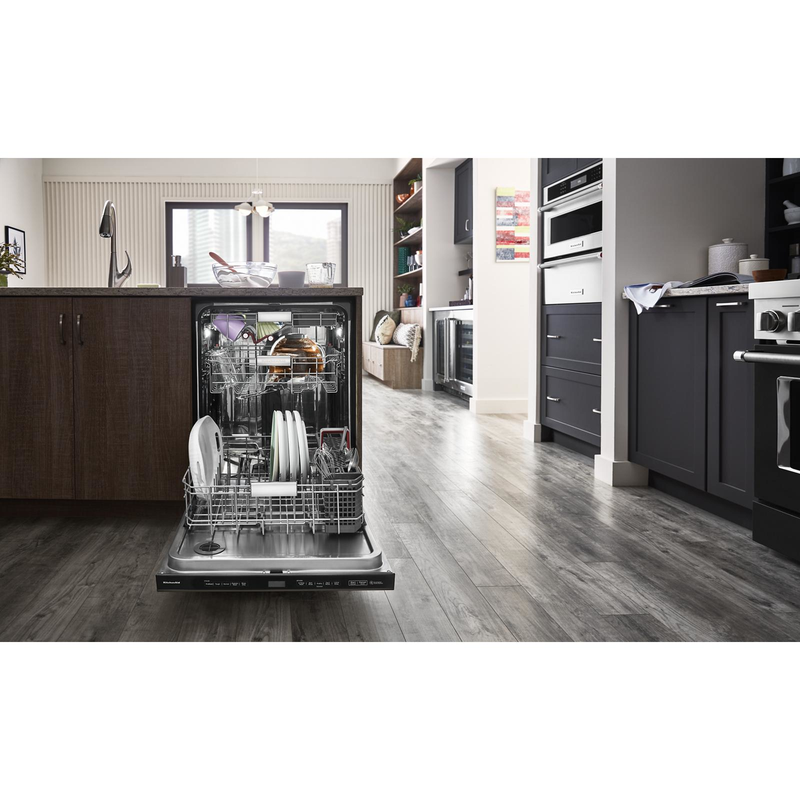 44 dBA Dishwasher with FreeFlex™ Third Rack and LED Interior Lighting KDPM804KBS