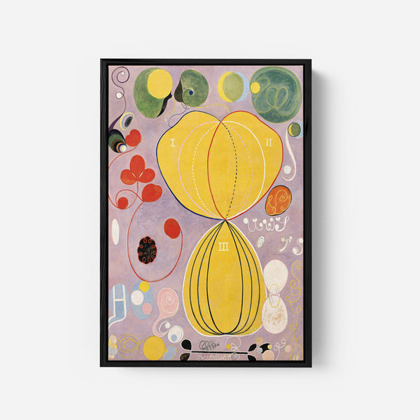 Painting of The Future by Hilma af Klint