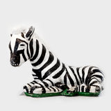 Hollywood Regency Era Zebra Statue-Large