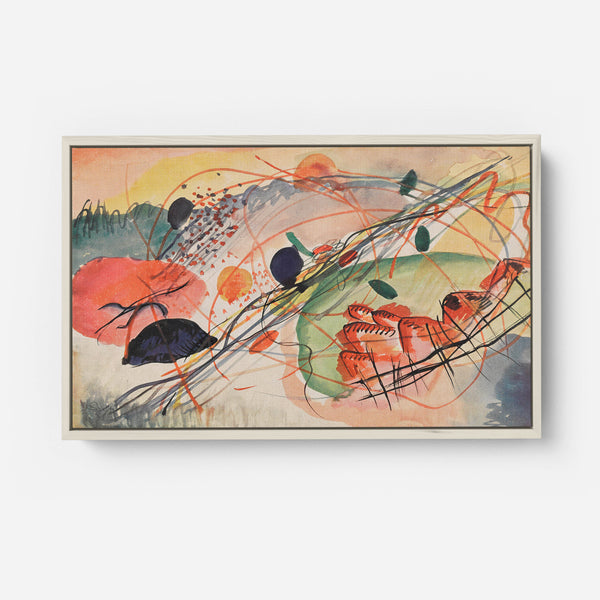 Watercolour 6 by Wassily Kandinsky (1911)